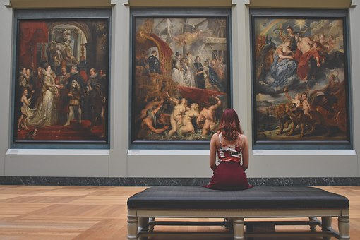 information you can learn about at the museum art
