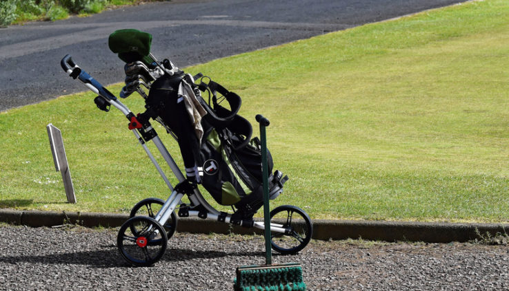Remote Control Golf Trolley